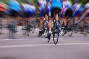 Blurred Riders