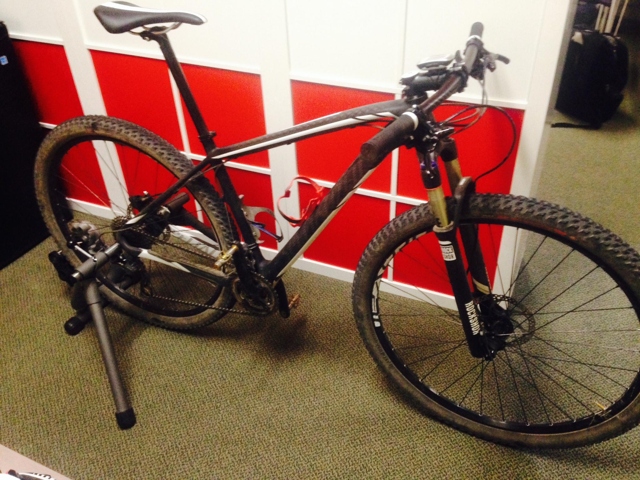 Indoor Mountain Bike Training - TrainerRoad
