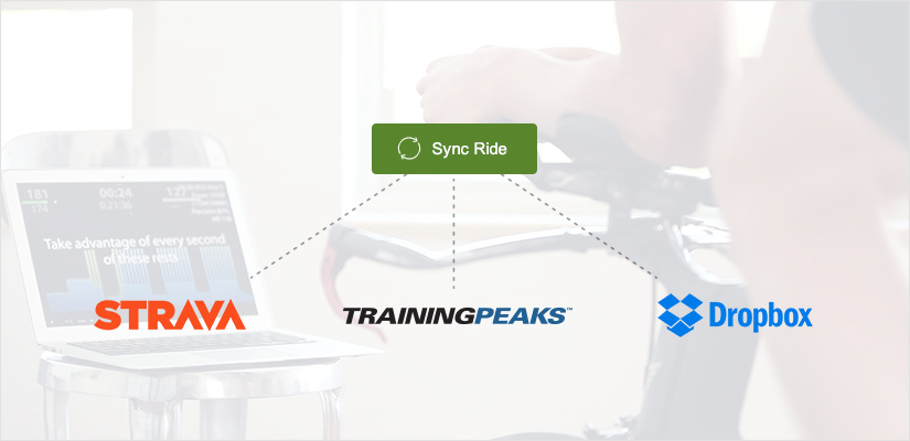 Sync Your TrainerRoad Workouts on Strava, Training Peaks and Dropbox