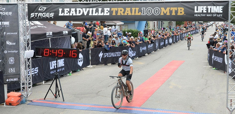 Sub-nine Leadville Finish