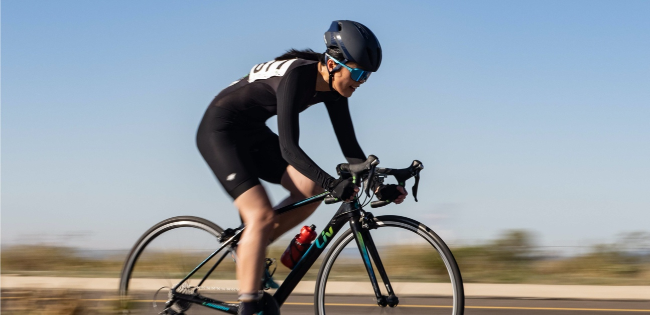 An athlete uses TrainerRoad to achieve success