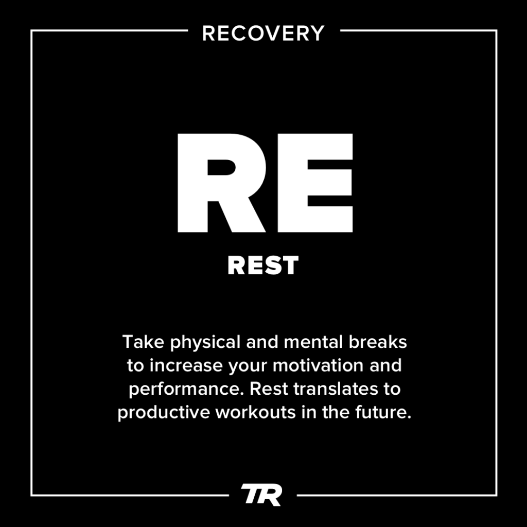 The Elements of Getting Faster: Rest