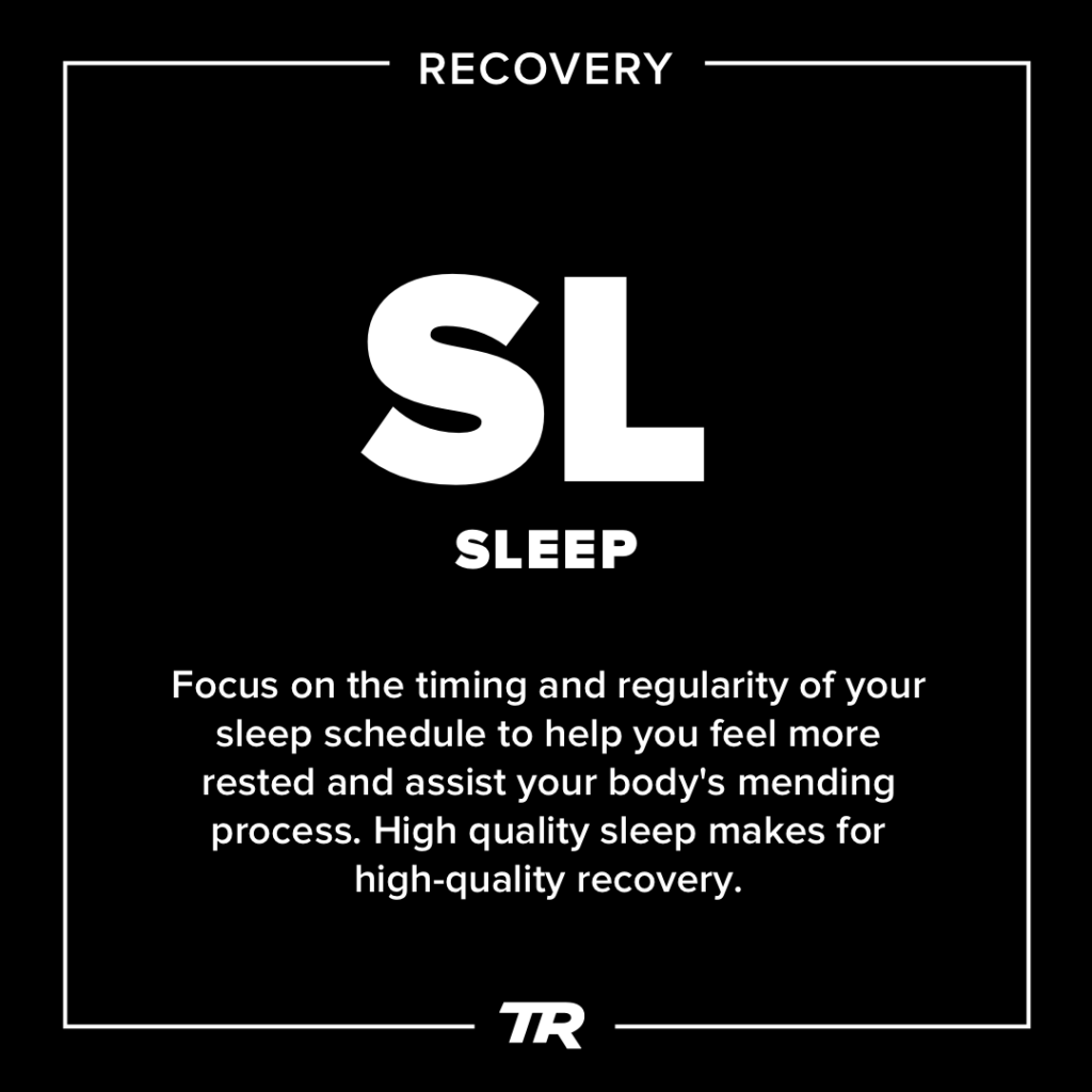 The Elements of Getting Faster: Sleep