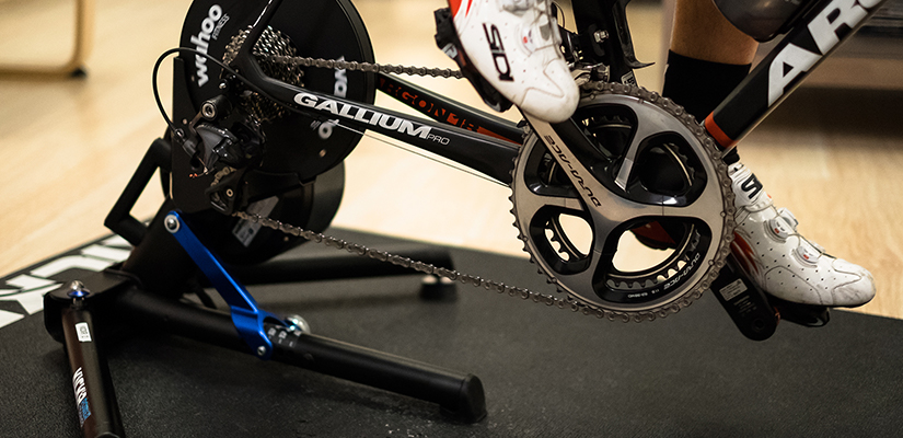This is a trainer with a power meter. If you change power meter's or trainers, you will need to test your FTP again.