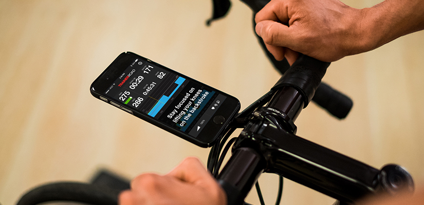 TrainerRoad workouts, including all FTP tests, have workout instructions that display on the screen.
