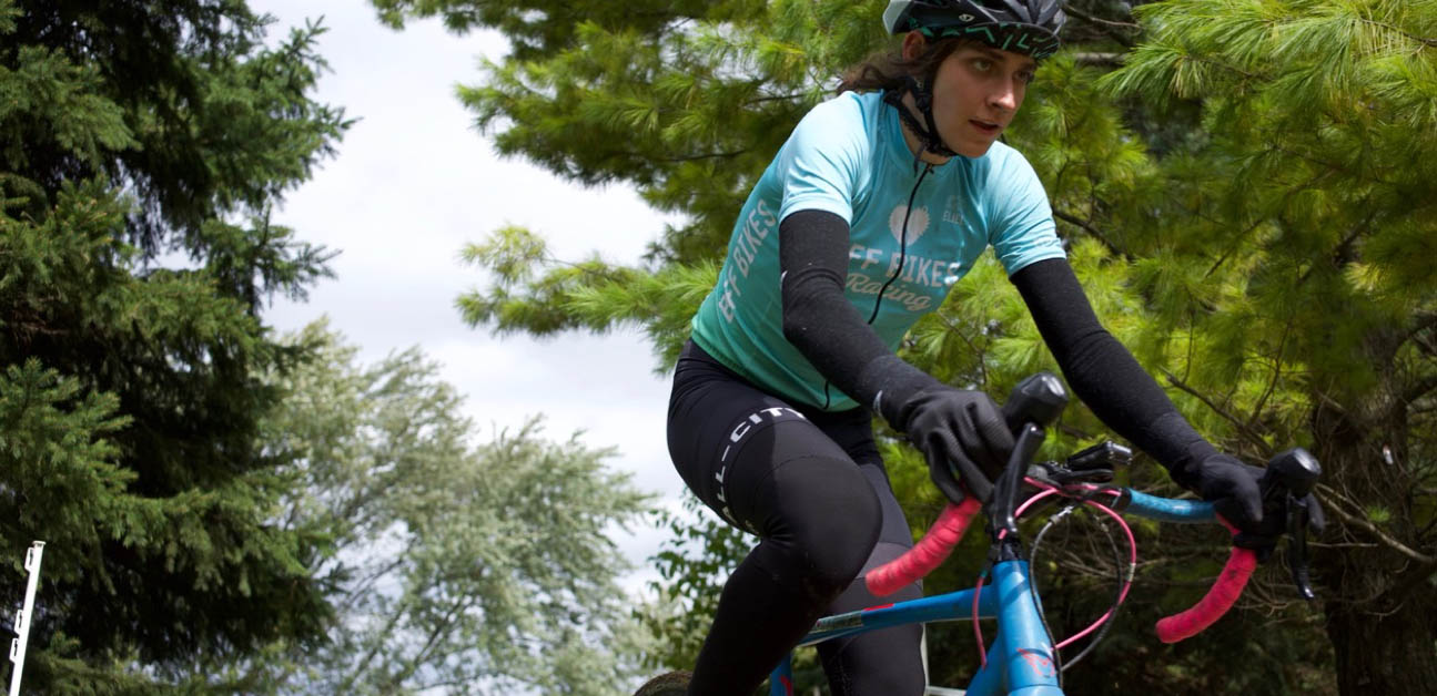cyclocross racer Austin Killips uses process goals to get faster amidst hormonal imbalances.