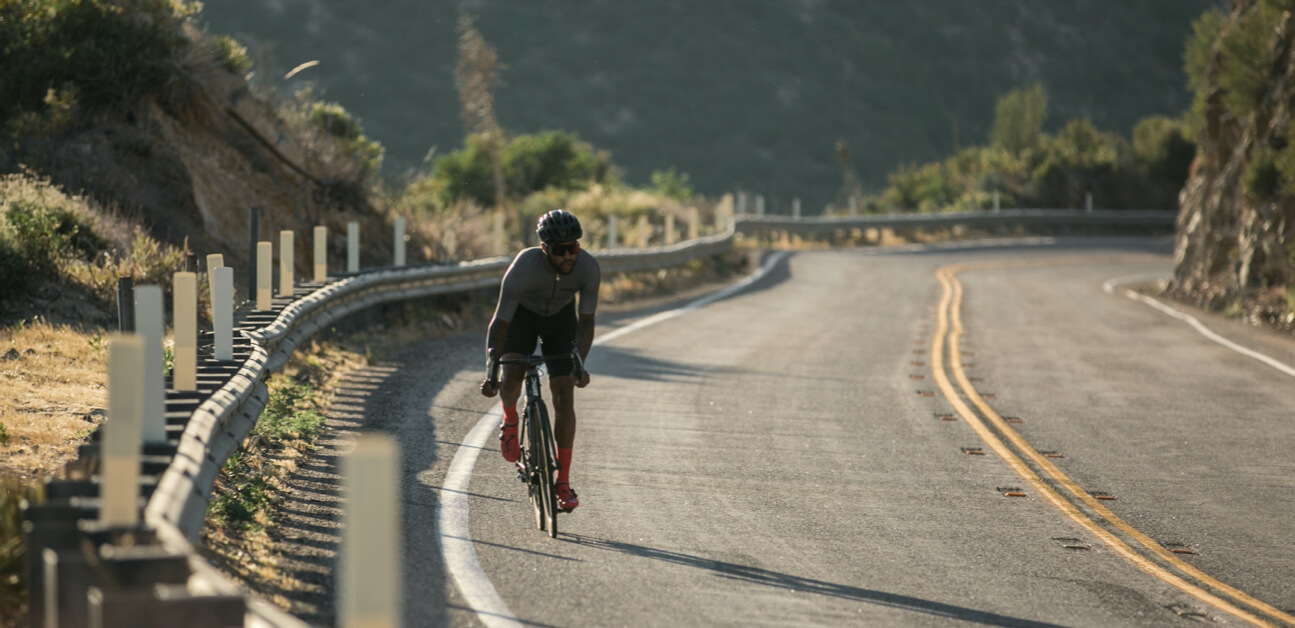 A cyclist trains using information gleaned from their power curve