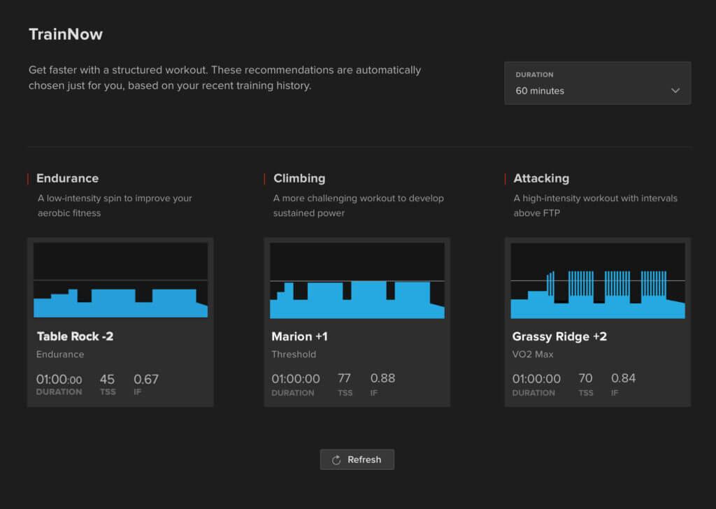 trainnow desktop screenshot